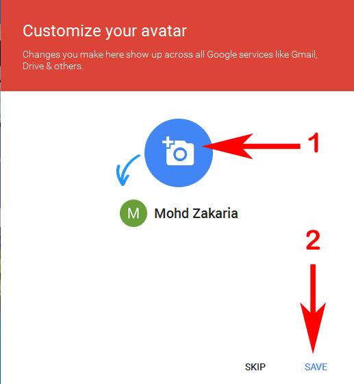 Cara Mengubah Profil Google di Blog