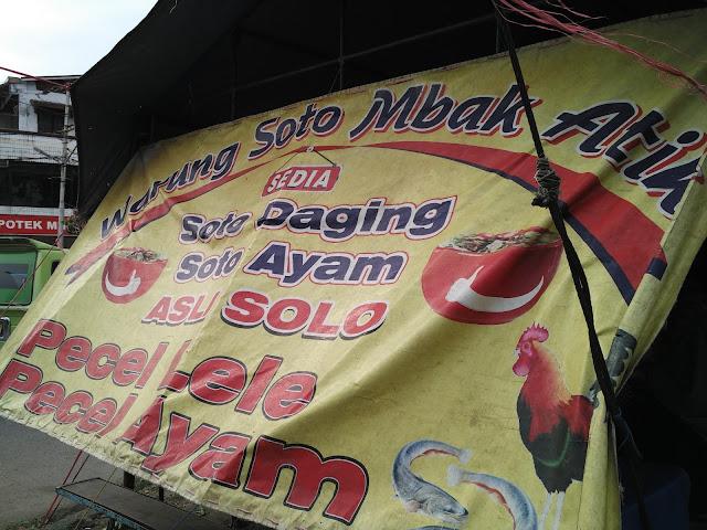 warung soto mbak atik padang