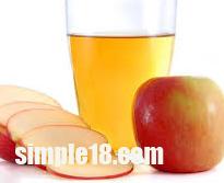 طريقة عمل  عصير التفاح بالمنزل