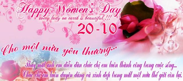 Những lời chúc 20-10 hay nhất tặng người yêu mừng ngày Phụ nữ Việt Nam