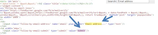 E-posta ile takip et eklentisi