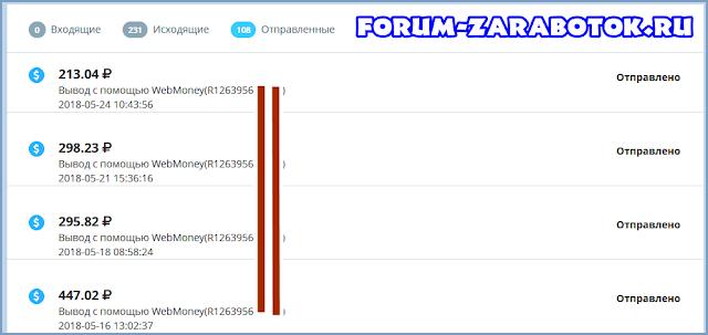 Сайт для заробітку грошей ВКонтакте і інших соц мережах