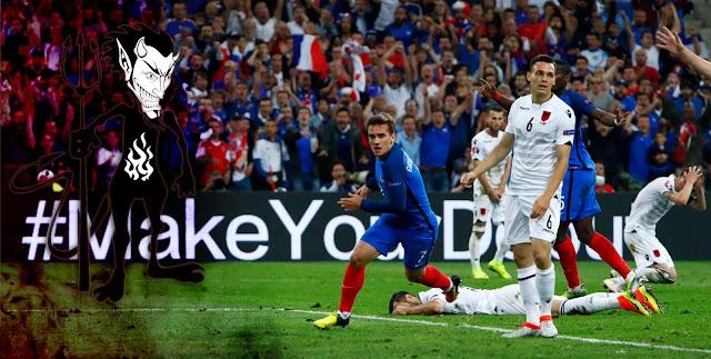 Perancis 2-0 Albania : Sisi Jahat Kemenangan