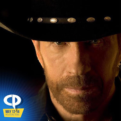 Chuck Norris Headlines Comicpalooza 2017 - His 1st Comic Con in 40+ years!