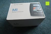 Verpackung: AUTO VOX M1 Auto Rückfahrkamera mit Monitor 4.3'' TFT LCD Rückansicht Bildschirm mit IP68 wasserdichte Kamera für Einparkhilfe&Rückfahrhilfe, einfache Installation für die meisten Automodell