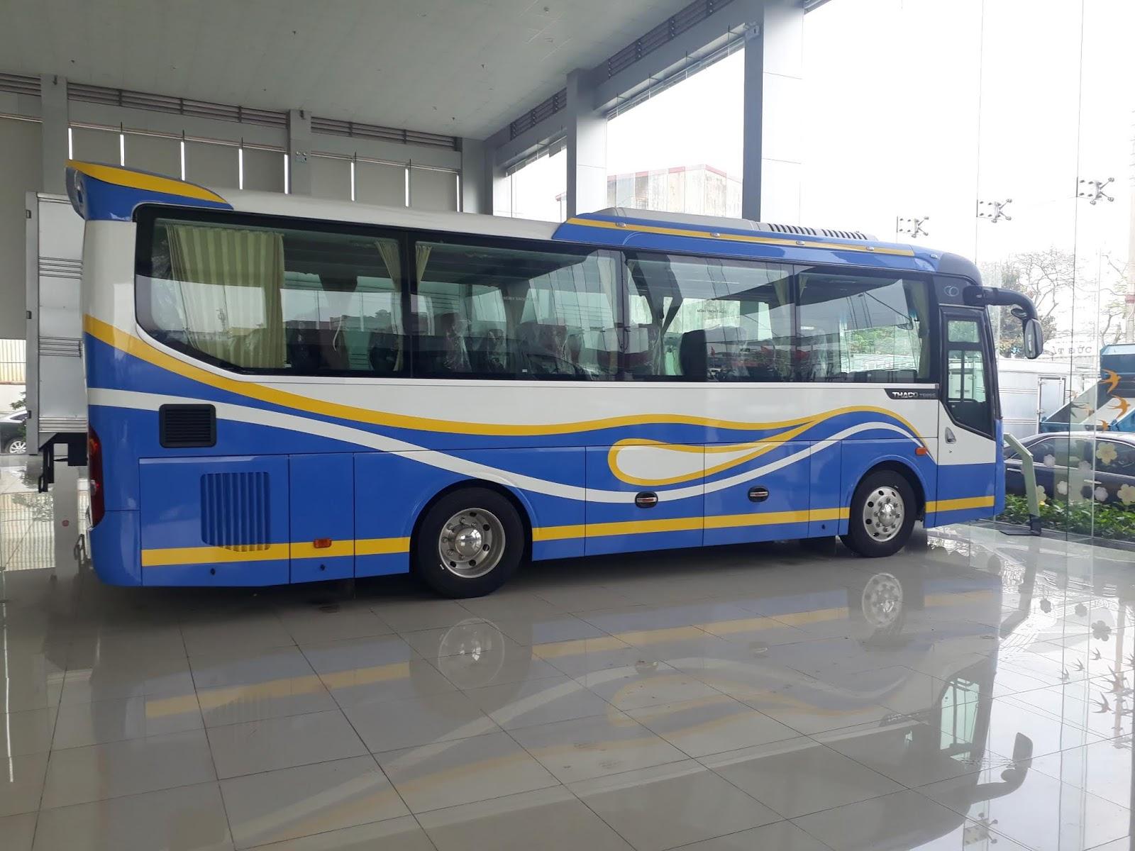 Mua xe khách 29 chỗ bầu hơi tại Hải Phòng