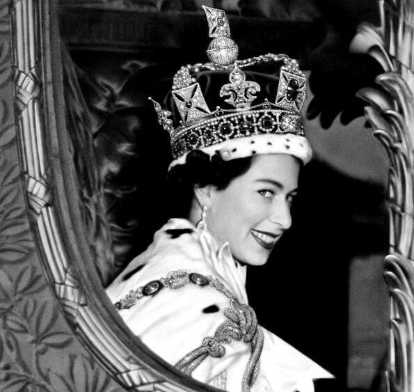 Happy 94th birthday, Queen Elizabeth. Diamond tiara. Kate Middletton, Princess Charlotte, Princess Margaret