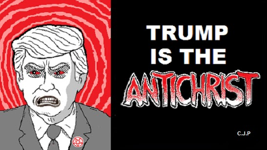 donald trump chick tract parody