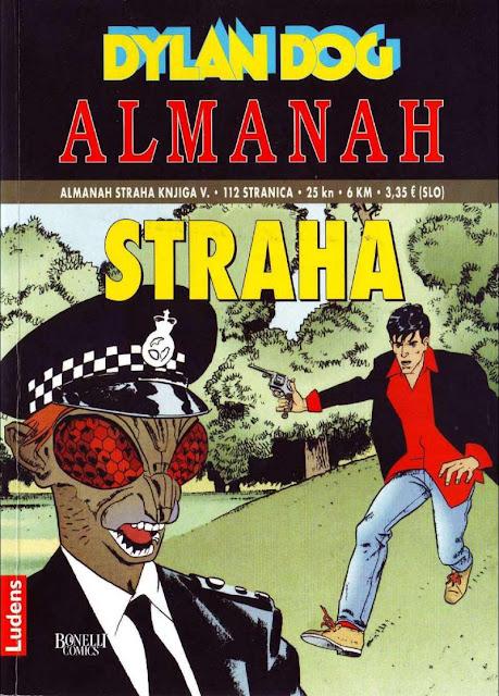 Ubojica Cudovista - Almanah Straha Ludens - Dylan Dog