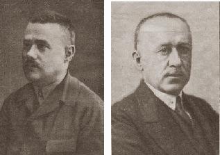Los compositores de ajedrez Mikhail Platov y Vassily Platov