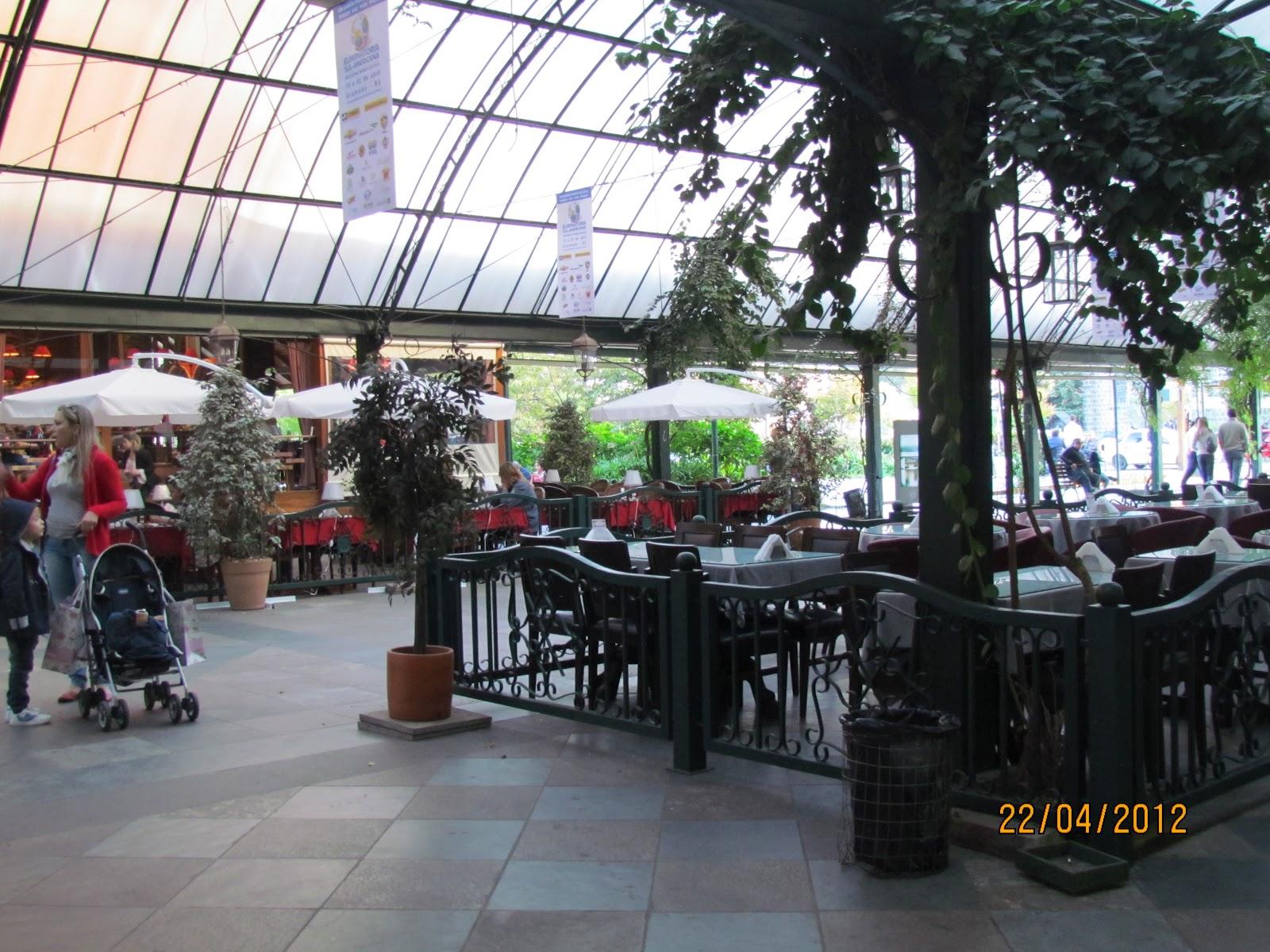 Restaurantes da Rua Coberta em Gramado