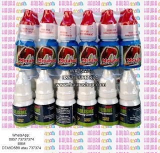 Metabolis yang dijual di Haura Shop adalah metabolis yang 100% asli dan terjamin mutunya. Produk Metabolisme yang didapat langsung dari orang pertama tanpa perantara sehingga kualitas keasliannya terjamin