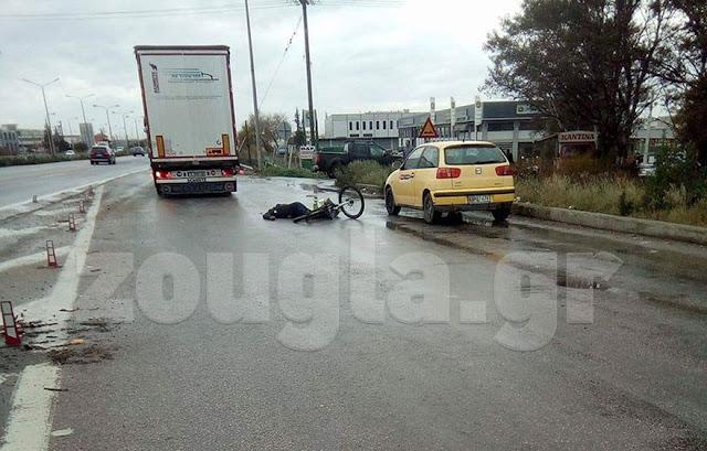 Αποκεφαλίστηκε ποδηλάτης στην Εθνική Oδό Θεσσαλονίκης – Αθηνών