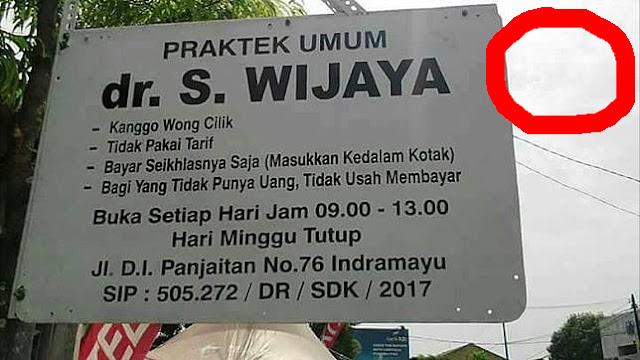 Viral!!! Dokter Wong Cilik Yang Tak Mau Di Bayar. Alasannya bikin gemetar.
