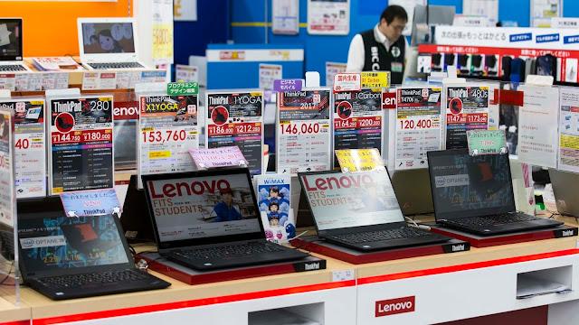 Lenovo bate recorde de receitas no ano fiscal 2018/2019