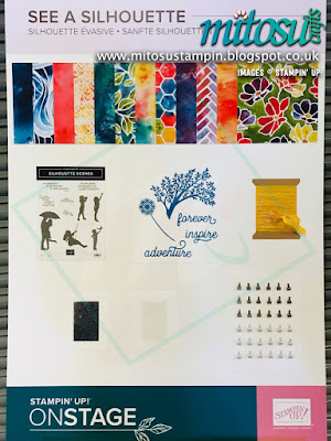 See A Silhouette Suite NEW Stampin' Up! Products #onstage2019 Display Board from Mitosu Crafts UK