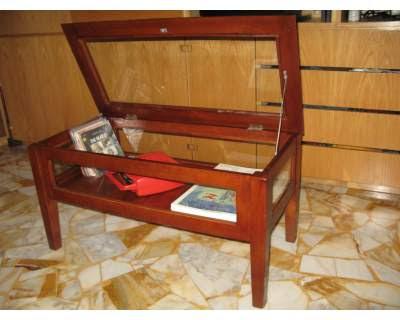 Vetrinette Legno Arte Povera.Tavolino Cristallo Arte Povera Mercatino Usato Genova