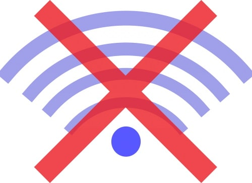 intermittent and sometimes offline wifi broadband connection signal