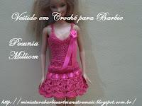 Barbie Com Vestidinho Em Crochê Criado Por Pecunia MillioM