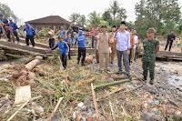 TGB Perintahkan Pemkab Lotim dan BPBD NTB Segerakan Program Rehabilitasi Bencana