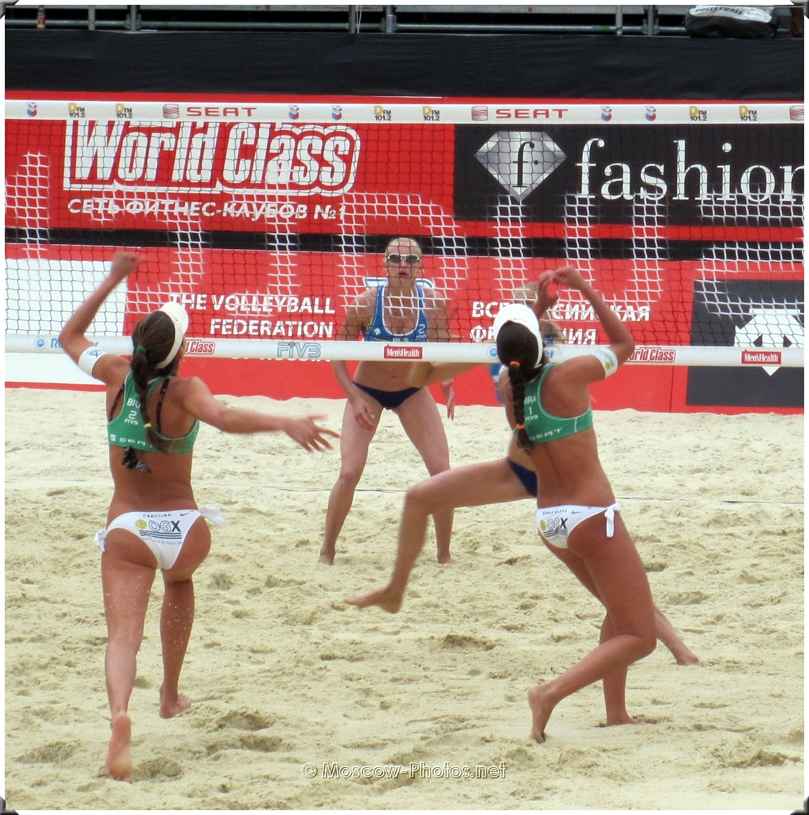 DEFENSIVE COVERAGE OF BRAZIL BEACH VOLLEY TEAM