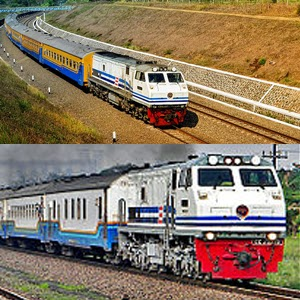 Jadwal Kereta Api dari Stasiun Kiaracondong dan Stasiun Bandung ke Kota Lainnya