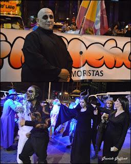 Desfile Inaugural del Carnaval. Uruguay. 2017. Humoristas Fantoches