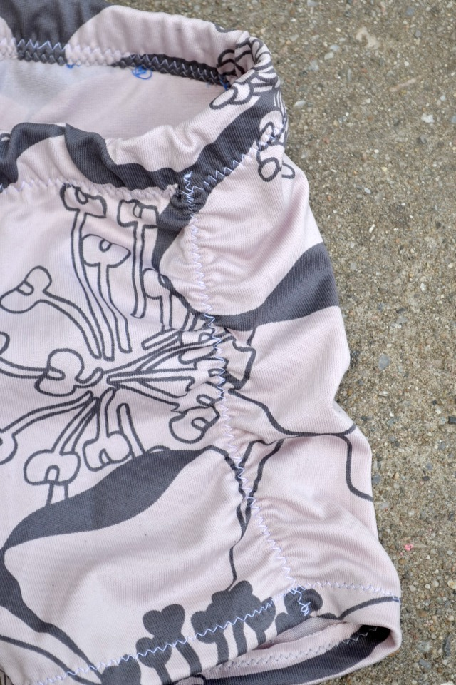 Sewing for the girl - Floral Swim Shorts