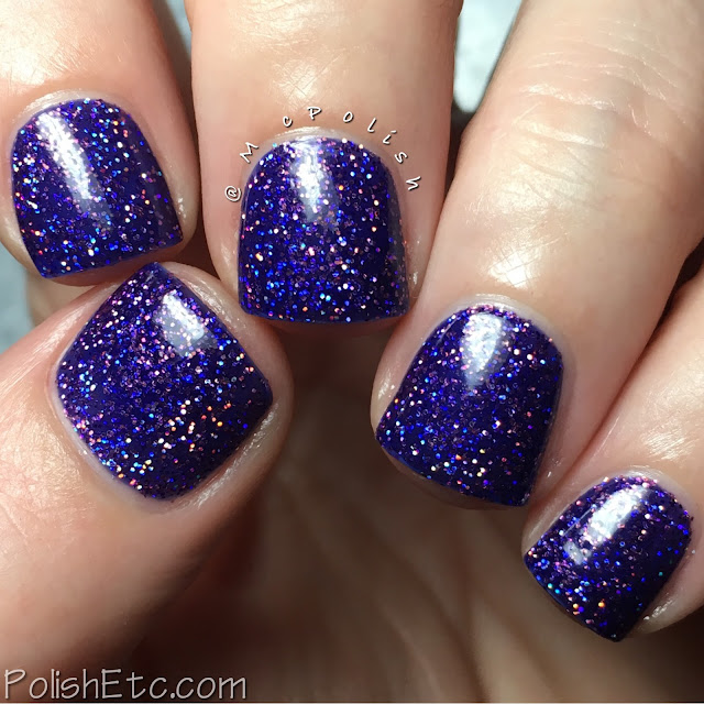 Nine Zero Lacquer - Holiday 2016 Collection - McPolish - Midnight