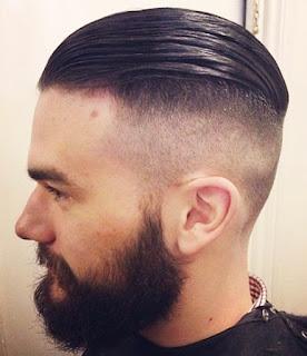 Model pangkas rambut layered undercut