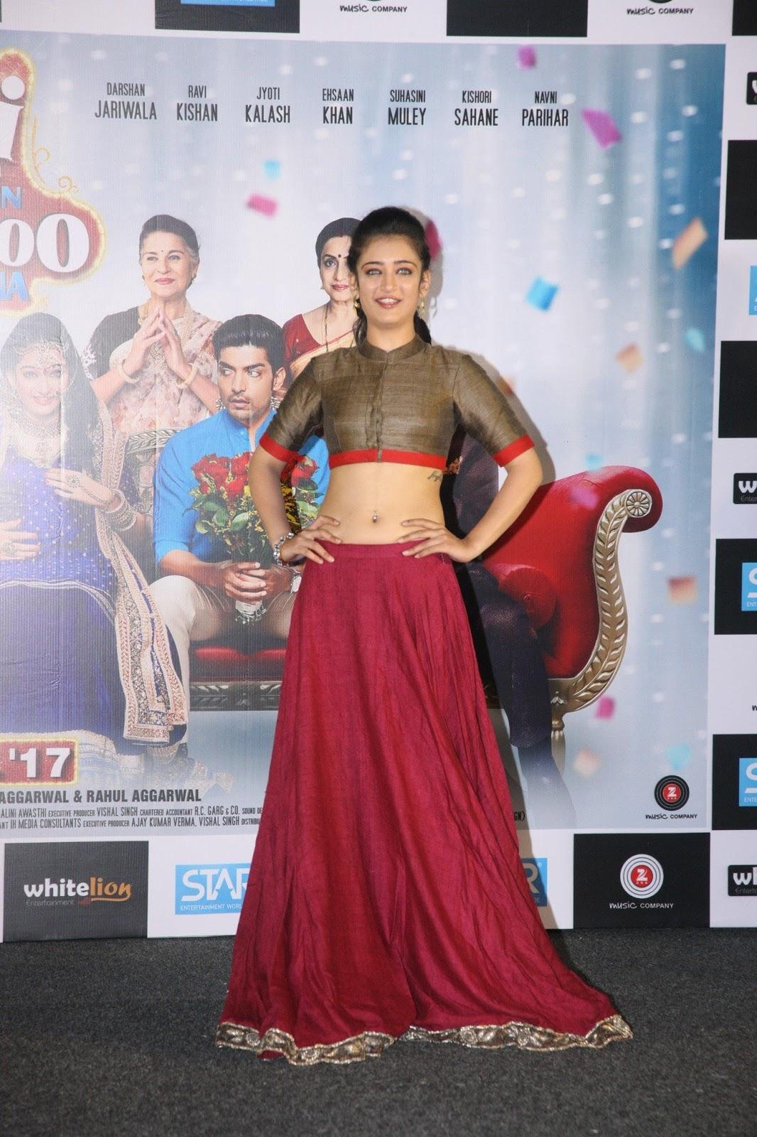Akshara Haasan Showcasing Her Toned Midriff At Film Laali -5353