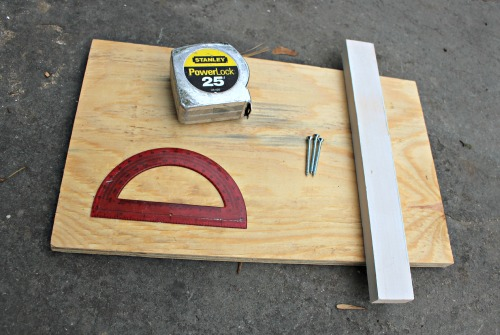 supplies to make a wedge jig