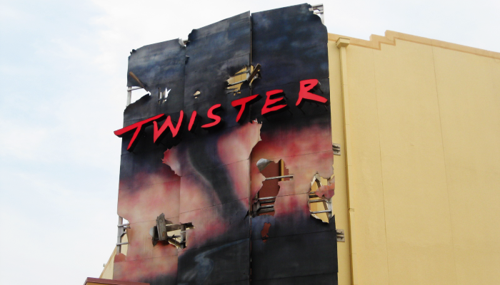 Universal Studios Twister Movie Attraction