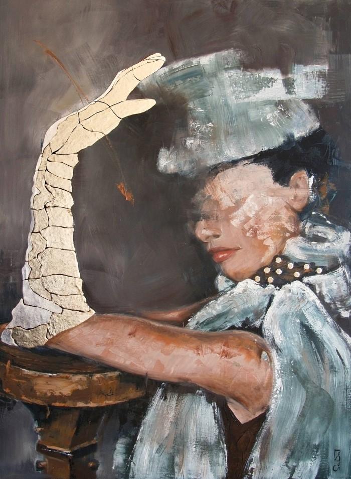 Испанский художник. Andrea Sabatt