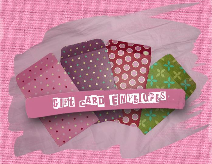 sugarnspice diy gift card envelopes
