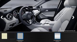 Nội thất Mercedes GLA 200 2019 màu Xám Crystal 108