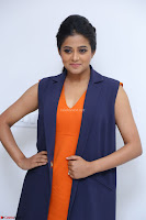 Priyamani in Beautiful Short Deep neck Orange Dress ~  Exclusive 47.JPG