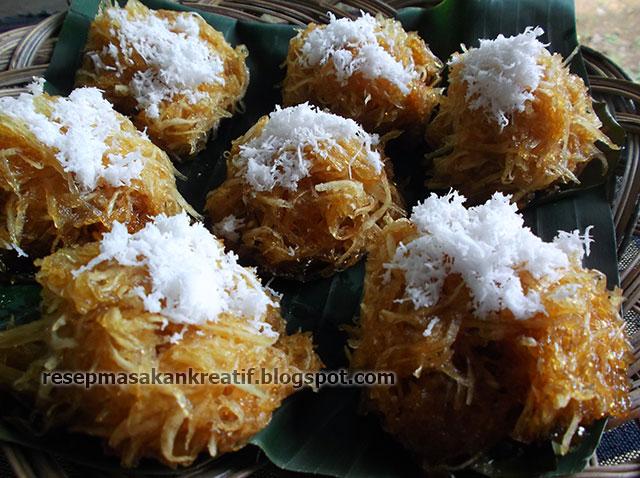 Resep Sawut Singkong Kukus Gula Merah - Resep Aneka Masakan Sederhana ...
