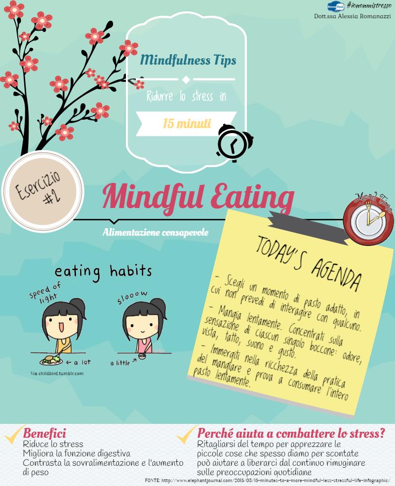 Mindful Eating | Esercizio mindfulness per la fame nervosa