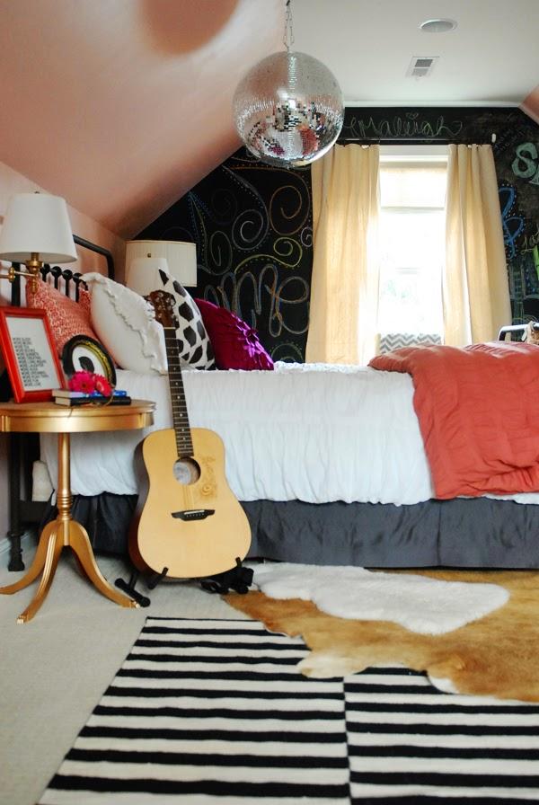 Emme's Bedroom: Feminine, Vintage, Eclectic