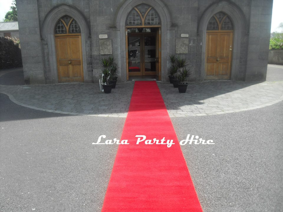 Red Carpet Hire €50