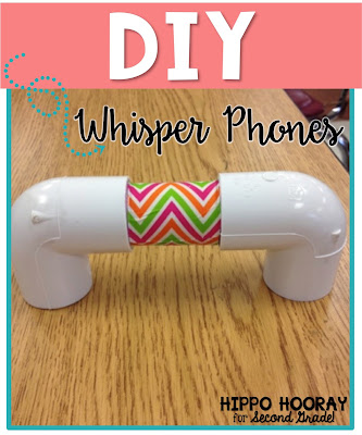 Check out these super easy, super cute DIY whisper phones!