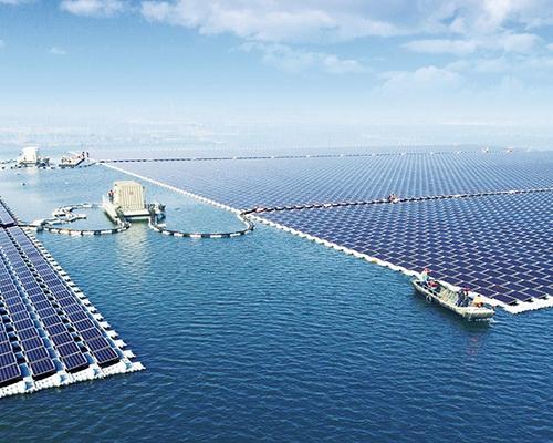 Tinuku Sungrow unveiled world's largest floating solar power plant