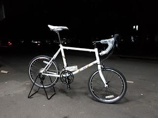Mini Velo 20 inch mini road bike merk BH Pino frame fork Chromoly