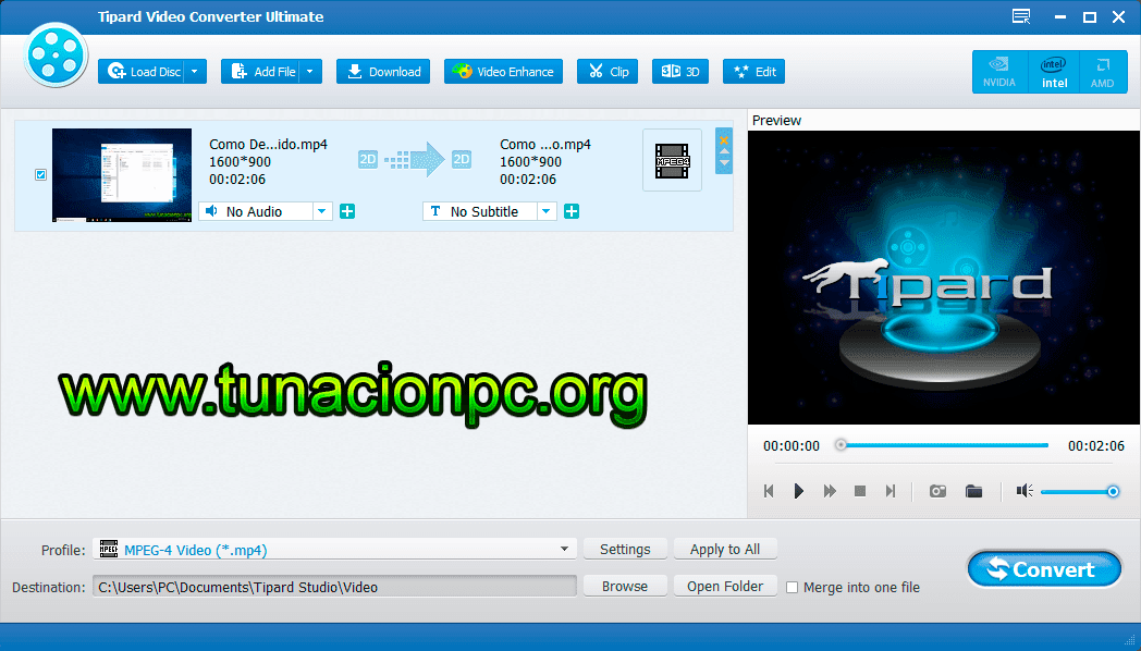 Tipard Video Converter Ultimate Full