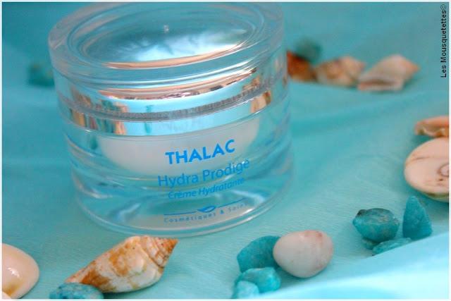 Hydra Prodige, crème hydratante Thalac - Blog beauté Les Mousquetettes©
