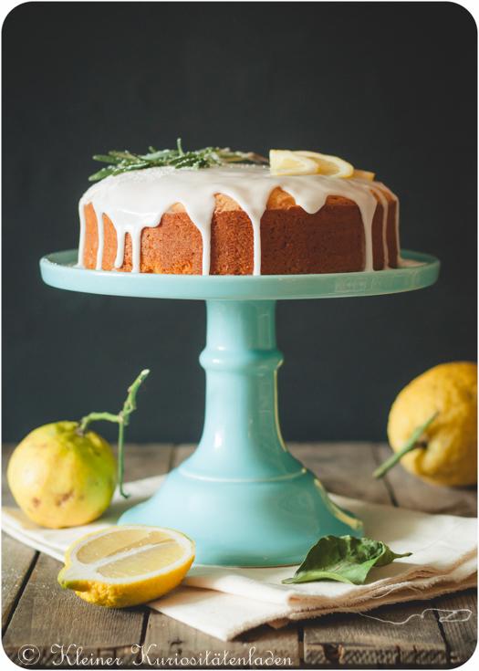Zitronenkuchen mit Rapsöl