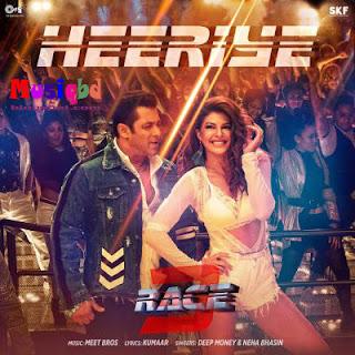 Heeriye By Deep Money,Neha Bhasin-Race 3 (2018) Ft. Salman Khan Bollywood Movie Mp3 Song Download