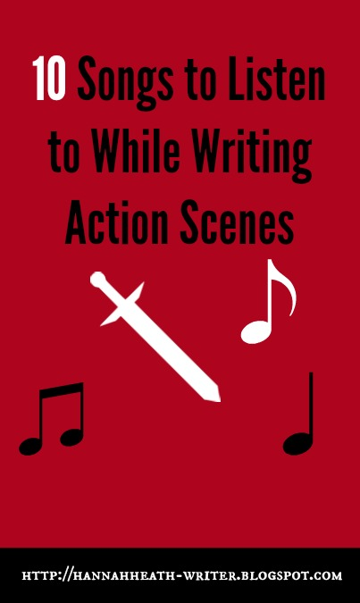 music for writing action in a screenplay