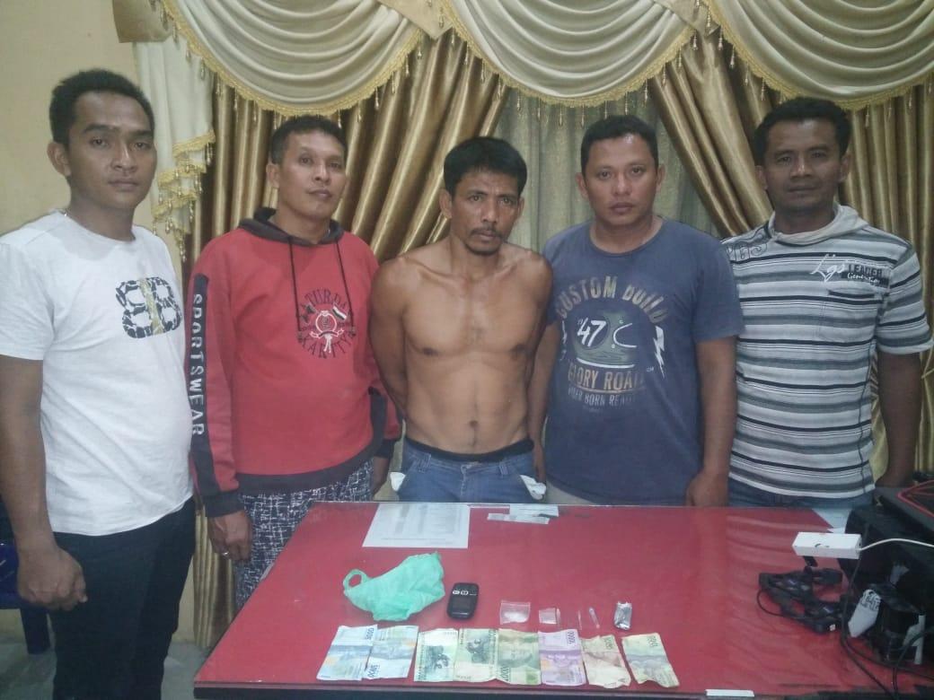 Polsek Kampung Rakyat Ringkus Tersangka Narkoba
